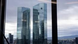 Corona-Krise trifft Deutsche Bank weniger hart als befürchtet