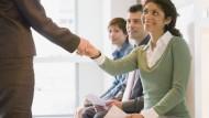 Persönlicher Eindruck zählt: Bewerber aus dem Ausland haben es mit deutschen Arbeitgebern oft schwer.