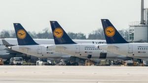 Lufthansa-Piloten streiken von Montagmittag bis Dienstagnacht