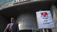 Die BBC streicht 1000 Stellen