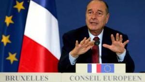 Eine Beruhigungspille für Chirac