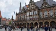 Das Bremer Rathaus: In der Hansestadt sitzt die Greensill Bank.
