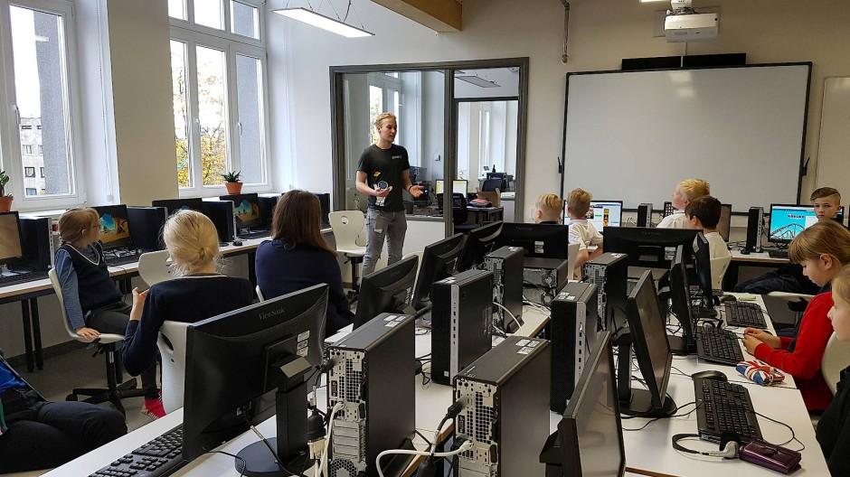 Die Gustav-Adolf-Schule in Tallinn.