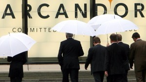 SPD und Union streiten über Arcandor-Hilfen