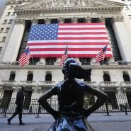 Vorderseite der Wall Street: An der amerikanischen Börse dominieren Technologieunternehmen wie Apple, Amazon oder Google-Konzern Alphabet.