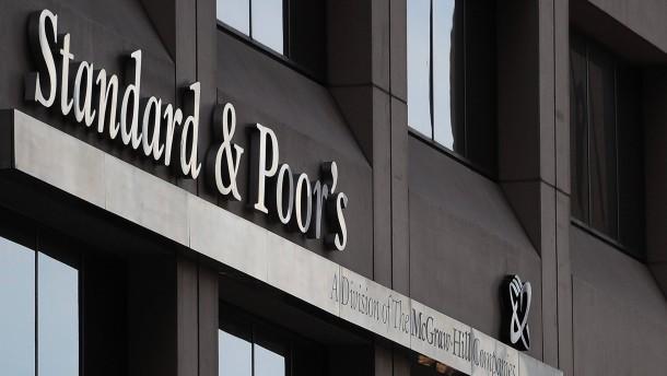 Standard & Poor's in der Defensive
