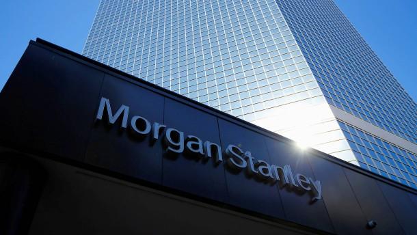 Morgan Stanley verlagert offenbar 100 Milliarden Euro nach Frankfurt