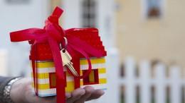 Fürs Eigenheim braucht es reiche Eltern