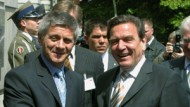 Marek Belka mit Bundeskanzler Gerhard Schröder