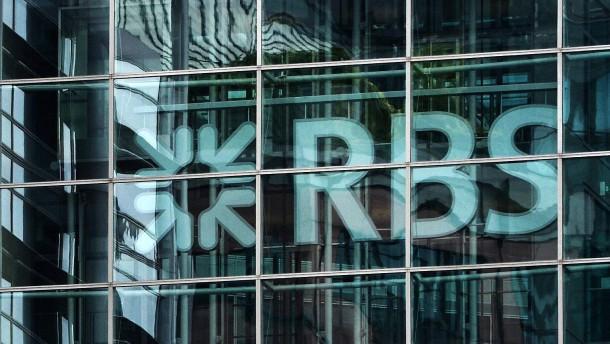 Royal Bank of Scotland streicht 14.000 Stellen