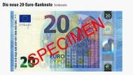 Das ist neu am 20-Euro-Schein. Eine Führung in Bildern.