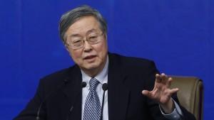 Pekings Abwertungsbeamter