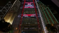 Die Großbank HSBC ist schon heute stark in Hongkong vertreten.
