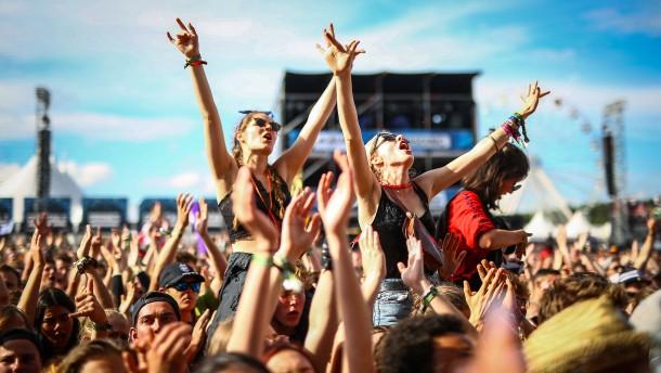 Hoffen auf den Festival-Sommer