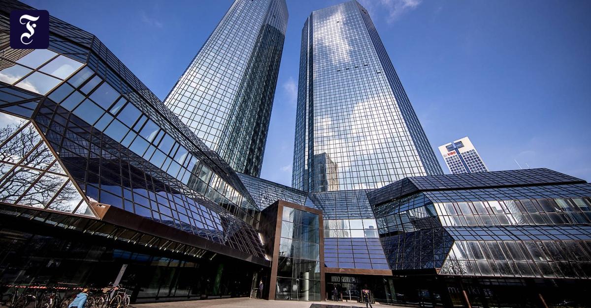 In Bonn und Frankfurt: Deutsche Bank baut weitere 350 Stellen ab