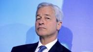 Jamie Dimon führt die größte amerikanische Bank.