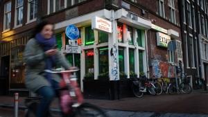 Amsterdams Coffeeshops sterben