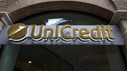 Großbank Unicredit streicht 8000 Stellen