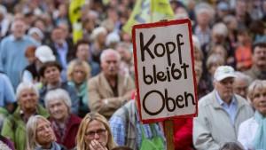 Land und Bund wollen Mehrkosten für Stuttgart 21 nicht bezahlen