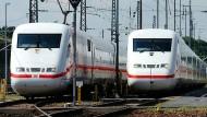 Die Deutschen fahren immer mehr Bahn