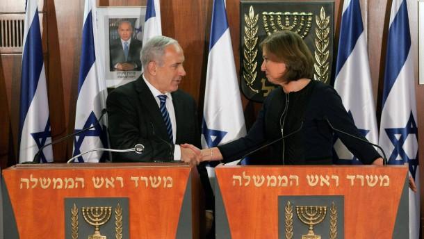 Netanjahu gewinnt Zipi Livni für Koalition
