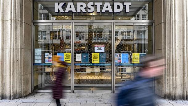 Kaufhaus in der Krise
