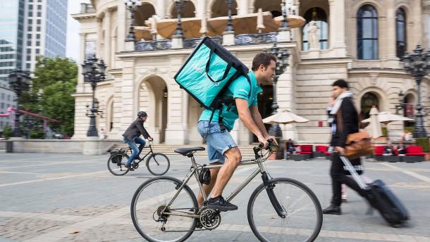 Deliveroo fährt nicht mehr in Deutschland