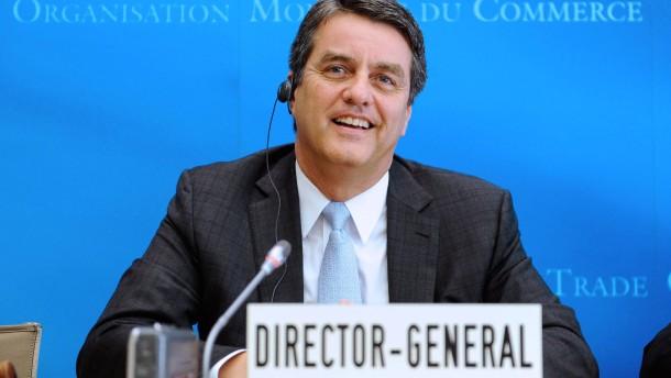 Neuer Chef mahnt zu Welthandels-Abkommen