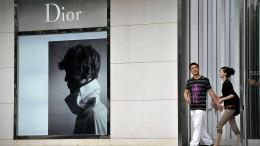Dior entschuldigt sich bei China für Landkarte