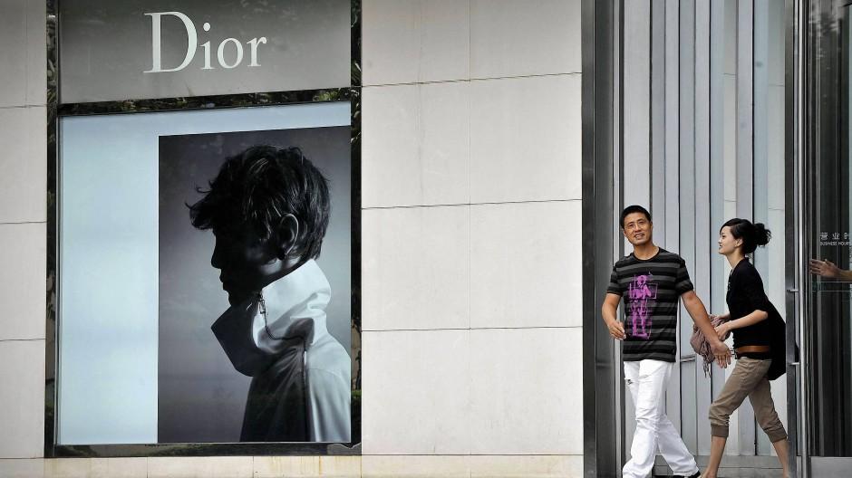 Dior-Geschäft in Schanghai