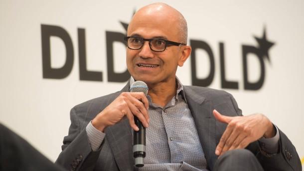 Microsoft-Chef fordert Zusammenarbeit bei künstlicher Intelligenz