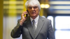 Ecclestone bietet Gericht angeblich 100 Millionen