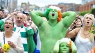Während der Fußball-EM hatte Irland das Nachsehen gegen Gastgeber Frankreich - wenn es um Wirtschaftswachstum geht, war das Inselland letztes Jahr hingegen klarer Europameister.