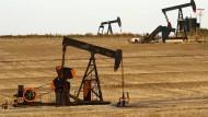 Die Ölpumpen haben derzeit gut zu tun.