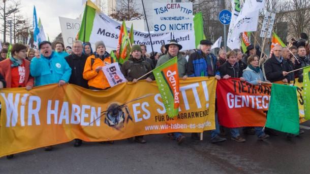 Berliner Agrar-Demo