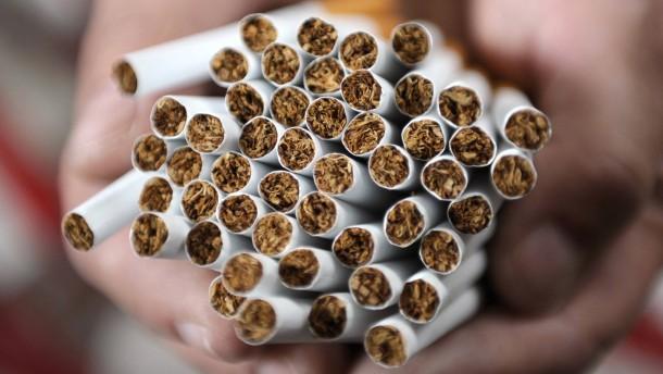 Hohe Milliardenstrafe für Tabakkonzerne