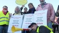 Deutsche Amazon-Mitarbeiter streiken abermals für Tarifvertrag