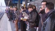 Bahnstreik polarisiert bei den Reisenden