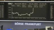 Dax nach EZB-Entscheidung auf Rekordhoch