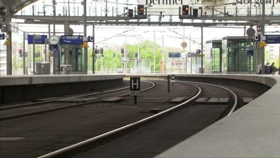 Bahnstreik bremst Pendler aus