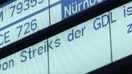 Zweiter Streiktag im Personenverkehr