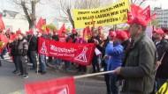 IG Metall streikt für mehr Lohn