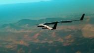 Facebooks Internet-Drohne absolviert Jungfernflug