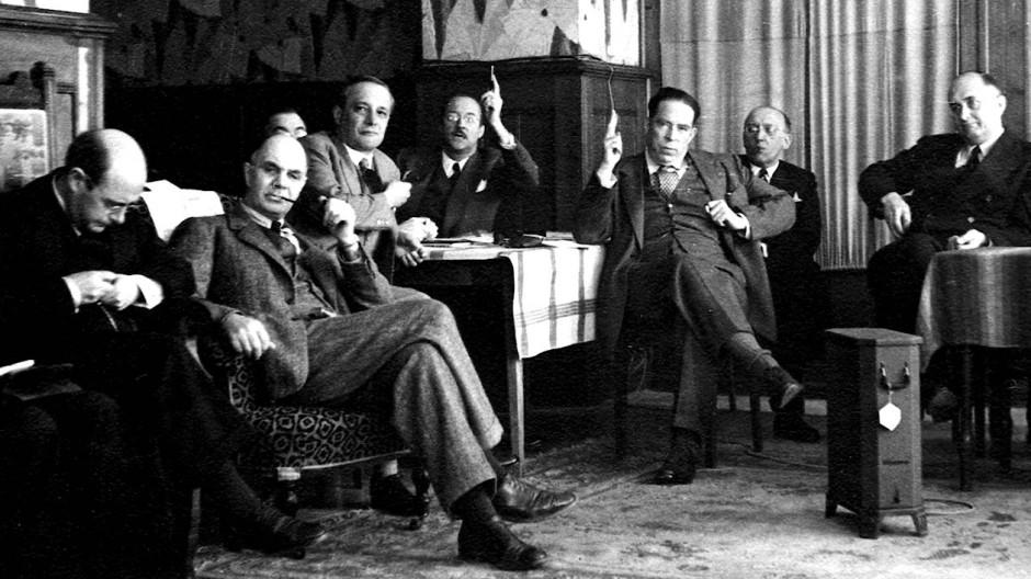 Über das Treffen liberaler Wissenschaftler im schweizerischen Ort Mont Pèlerin 1947 kursieren viele Erzählungen. Nicht alle stimmen.
