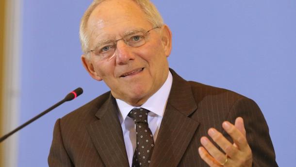 Pk Schäuble zu Steuerschätzung