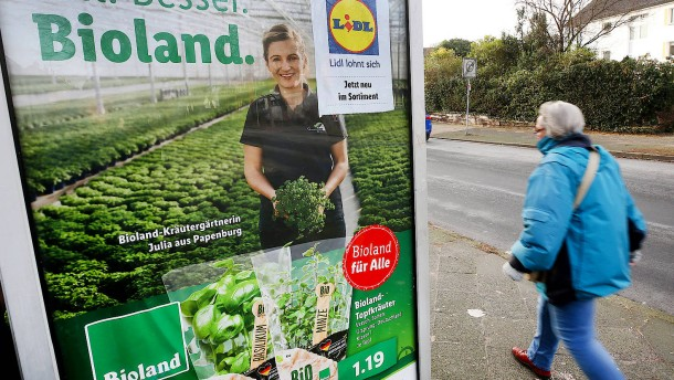 Lidl will größeres Stück vom Bio-Kuchen