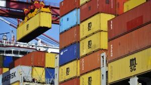 China ist wichtigstes Importland der Deutschen