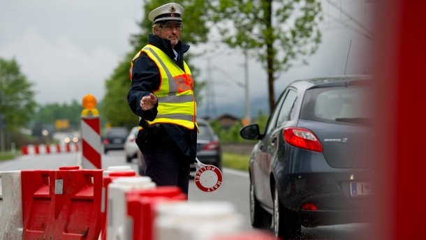 Grenzkontrollen werden teuer
