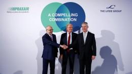 Amerika erlaubt Fusion von Linde und Praxair unter Auflagen