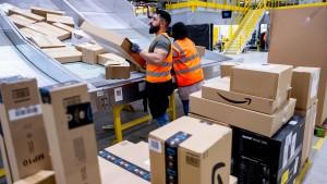 """Sechstel der Mitarbeiter von Amazon streikt am """"Prime Day"""""""